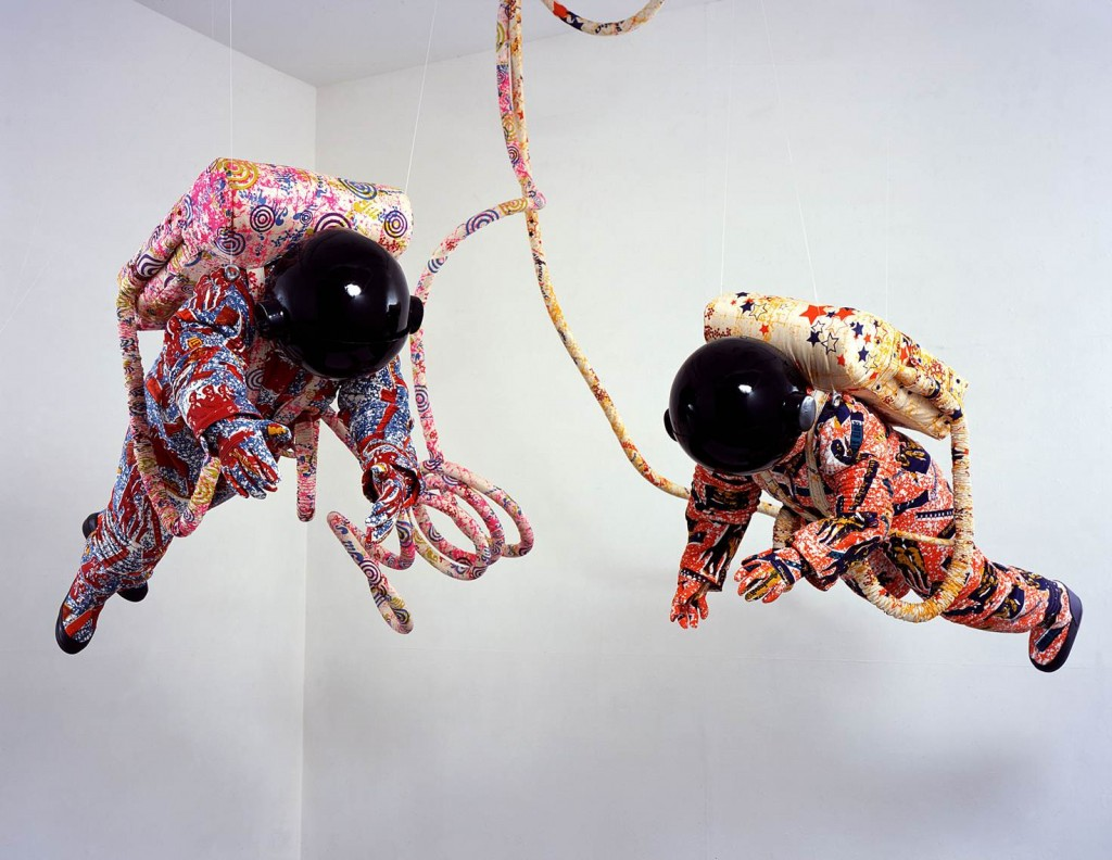 Yinka Shonibare MBE, in collaboration with The Fabric Workshop and Museum, Philadelphia. Space Walk, 2002
